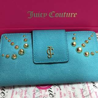 Juicy Couture 藍色長銀包