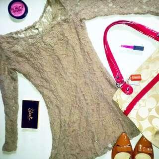NUDE SHORT DRESS