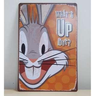Bugs Bunny Tin Plate [T-3]