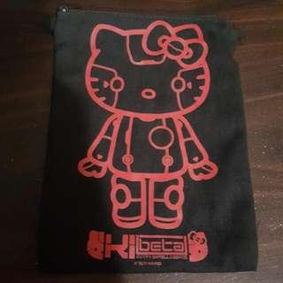 Hello Kitty 小布袋 小袋子