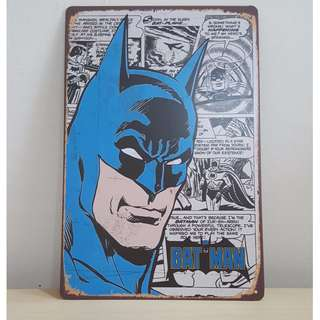 Batman Tin Plate (1) [T-4]