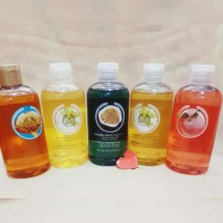 The Body Shop Shower Gel 250ml Mixed Scent