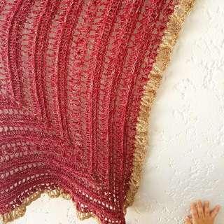 Crochet Secret Paths Shawl