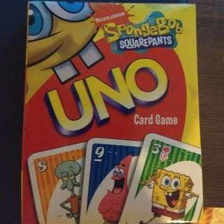 Spongebob Uno Card Game