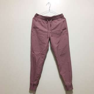 Uniqlo Jogger Pants (dusty Pink)
