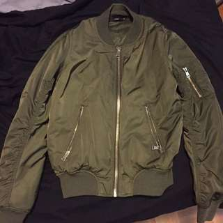 REDUCED Topshop Bomber Jacket