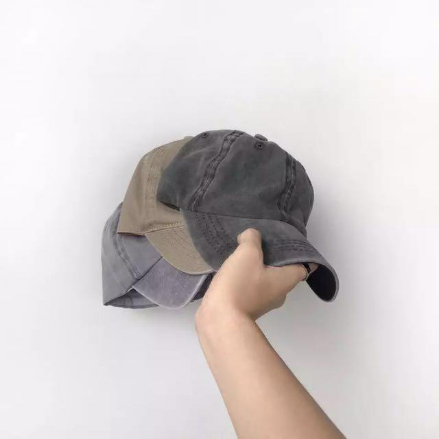 水洗做舊棒球帽