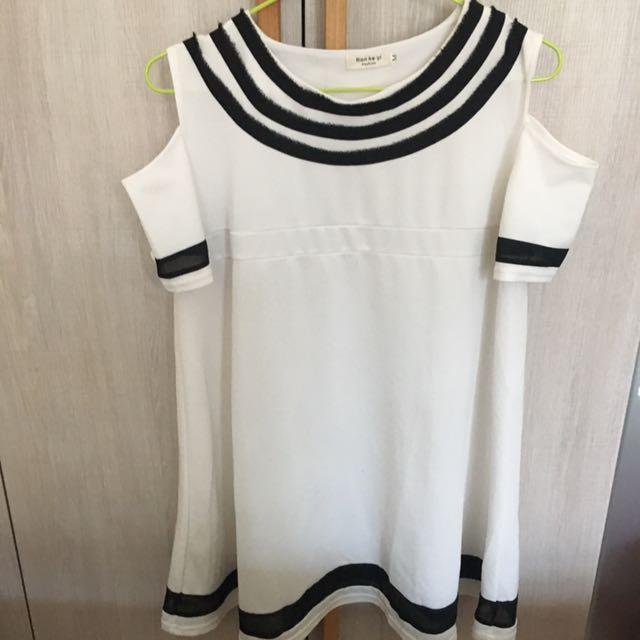 小洋裝(白)