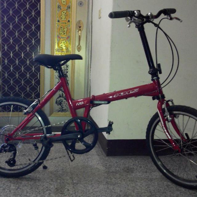全新!折疊腳踏車(功學社) 型號:khs  f20-t
