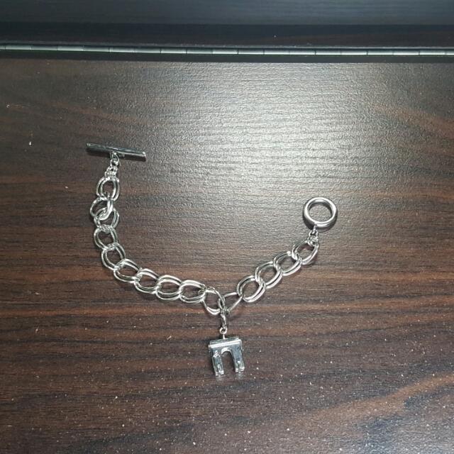 Agnes b bracelet  鎖鏈型 手鏈