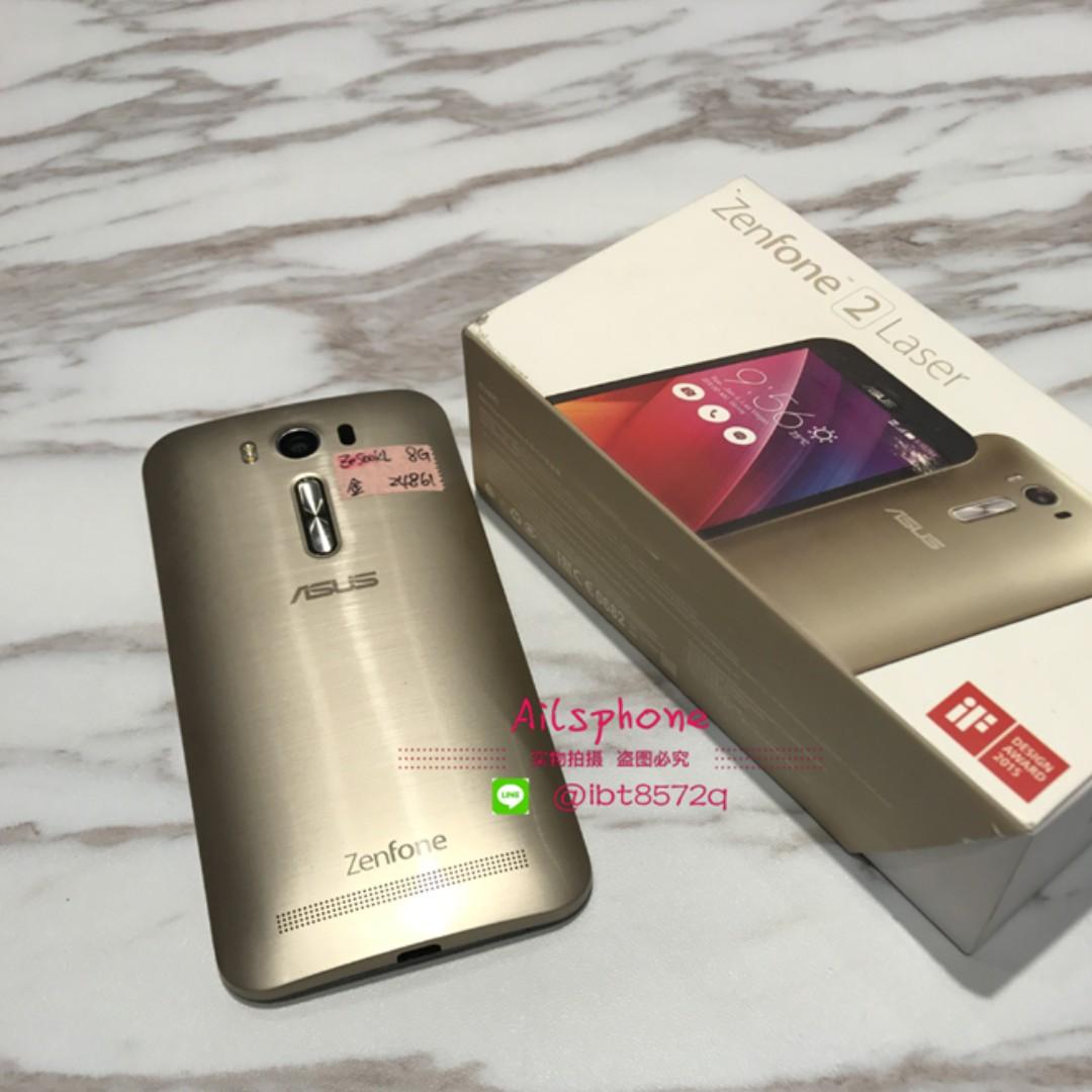 【Ailsphone】Zenfone2 Laser (Ze500KL) 金 8G 保固三個月