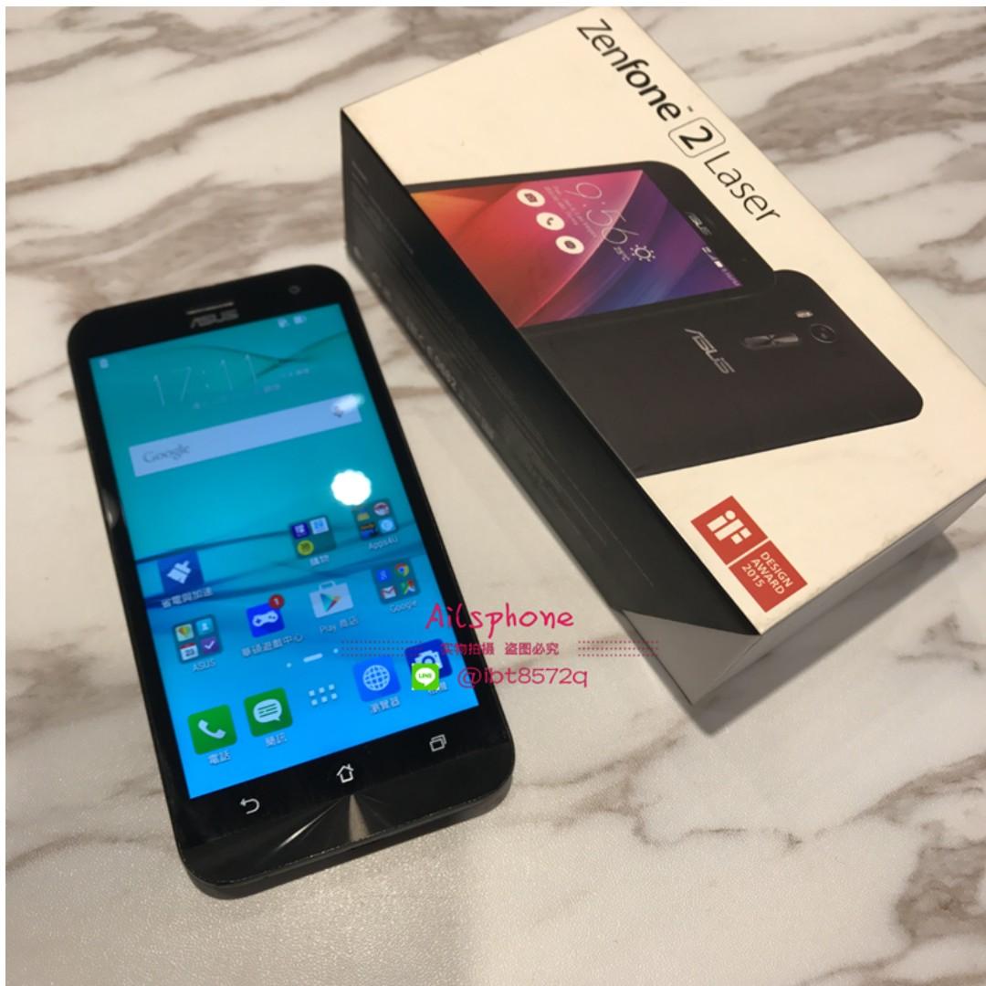 【Ailsphone】Zenfone2 Laser (Ze500KL) 黑 8G 保固三個月
