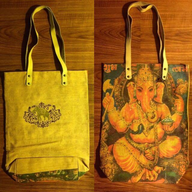 Apostrophe' Buddha Bag