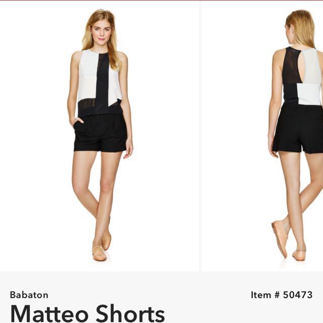 Aritzia Babaton Matteo Shorts / Size 2