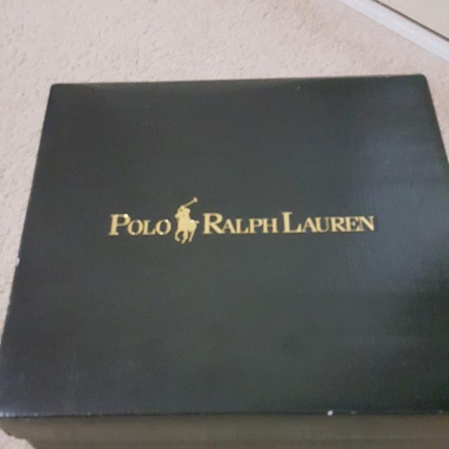 Authentic Ralph Lauren Tavin Leather Toddler Boots
