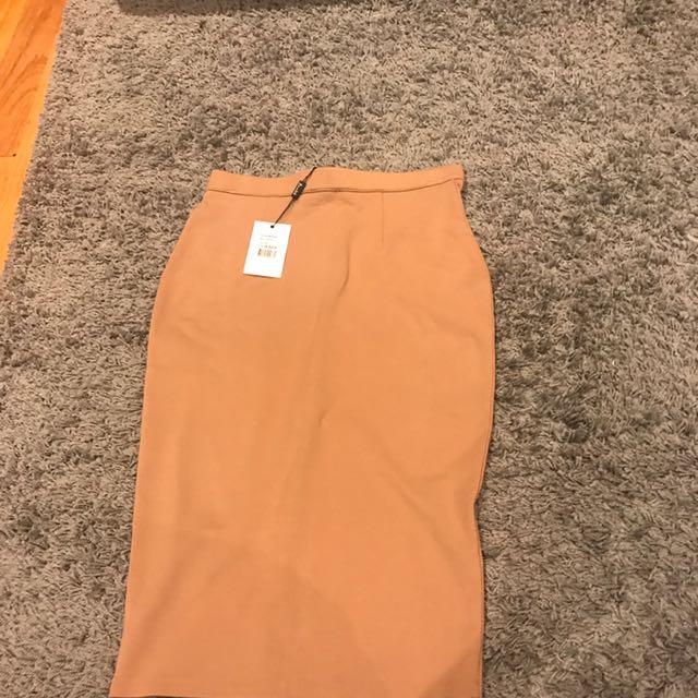 Bardot Fitted Skirt