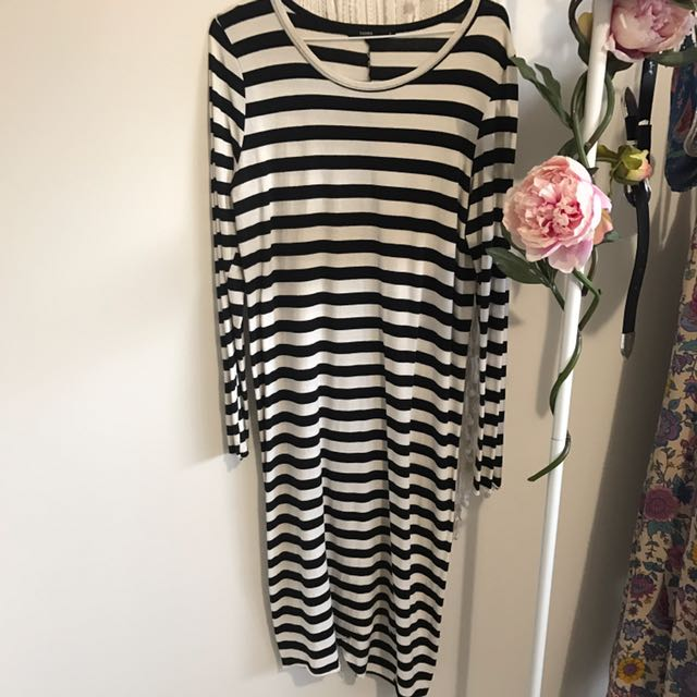 Bassike Stripe Dress