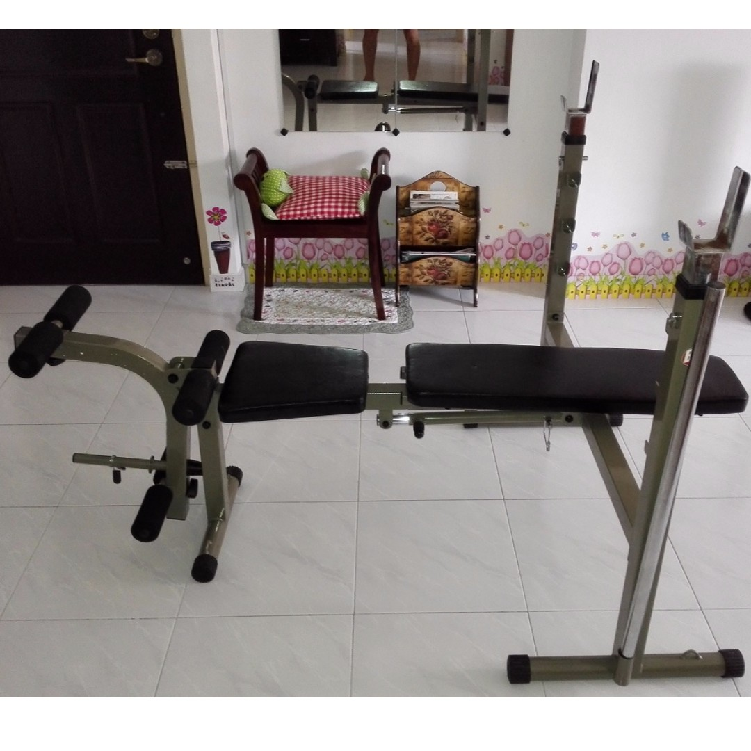 Best Fitness Olympic Folding Weight Bench Bfob10 Sports Sports
