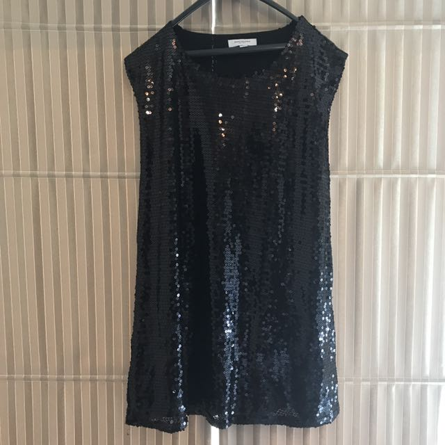 Black Blinky Dress