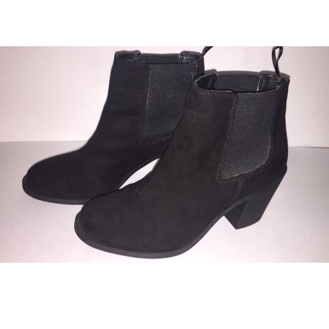Black Suede H&M Boots