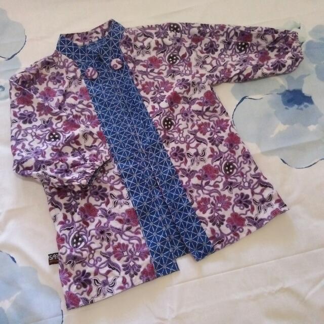 Blazer Batik Pekalongan