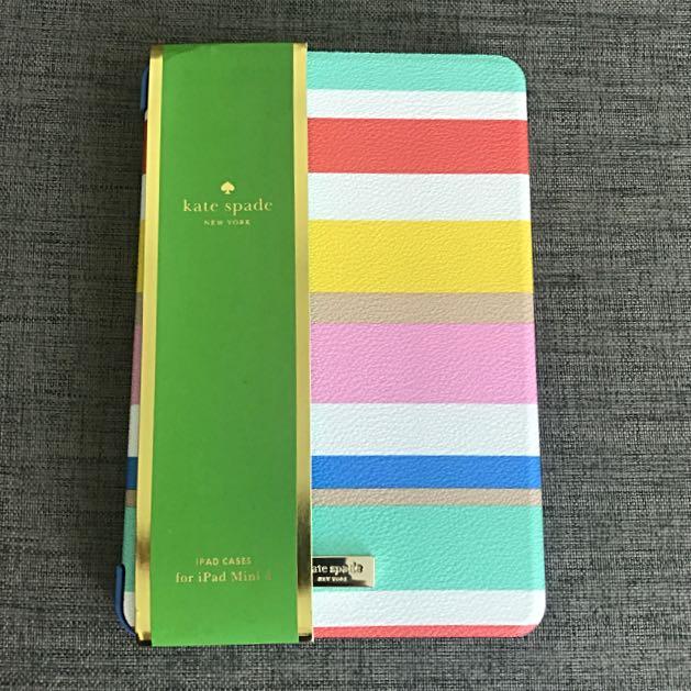 promo code 099ea ccf86 BN Kate Spade iPad Mini 4 Cover Case