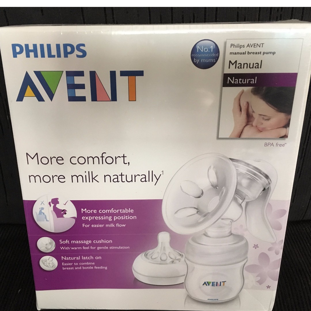 BNEW Philips Avent Natural Breast Pump