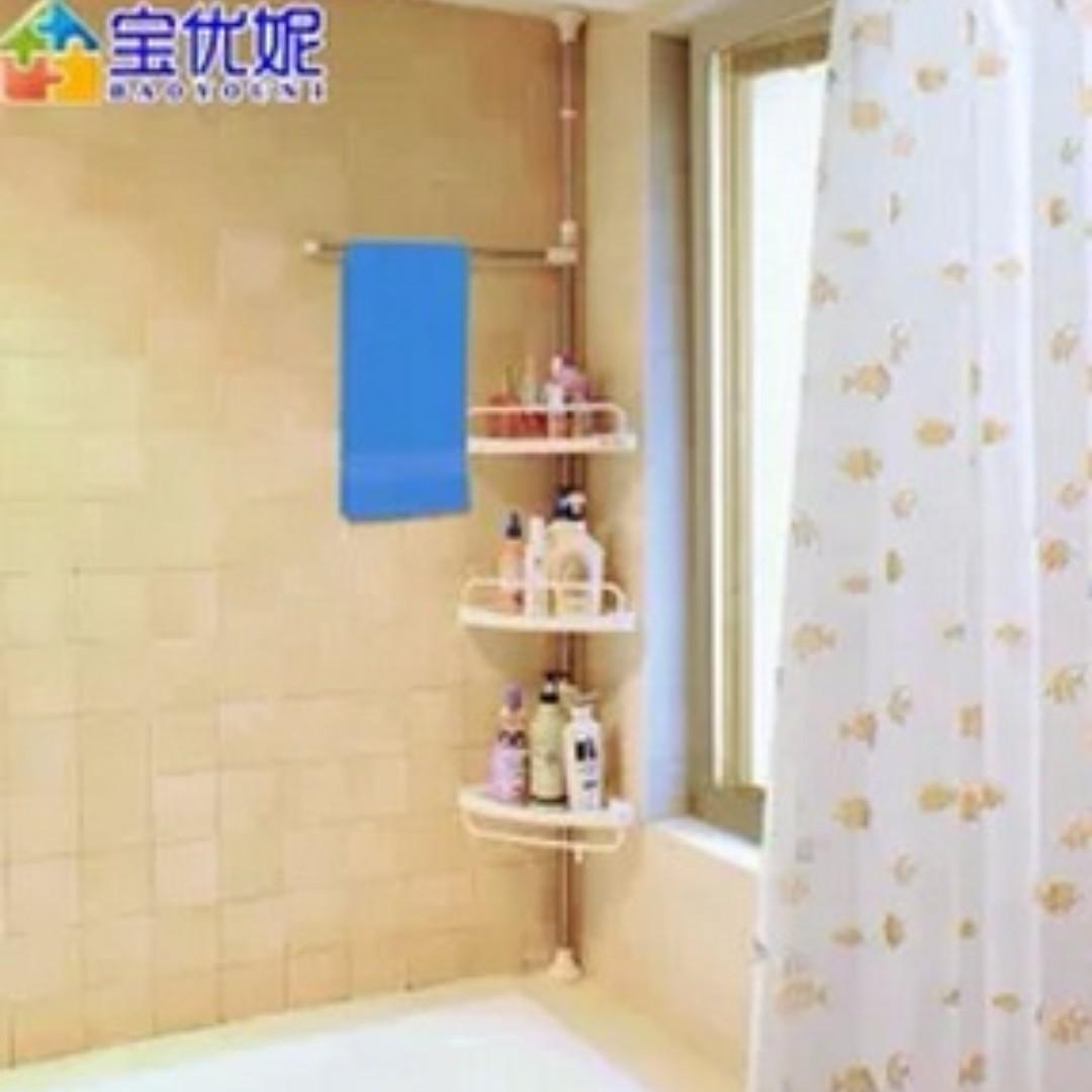 Brand New Bathroom Pole Organizer 3 Level