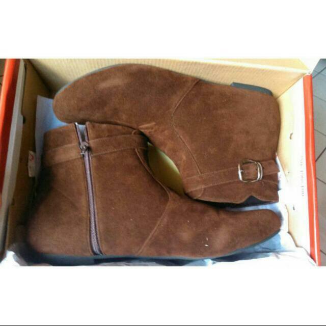 Brown Boots - Fladeo - Sepatu Boots Coklat