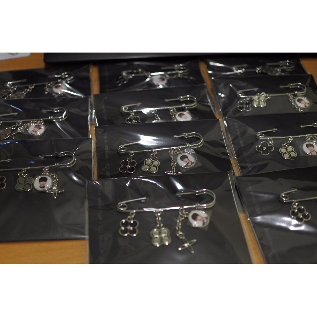 BTS 防彈少年團 胸針日本 演唱會 周邊 商品 代購 代買 現貨 官方