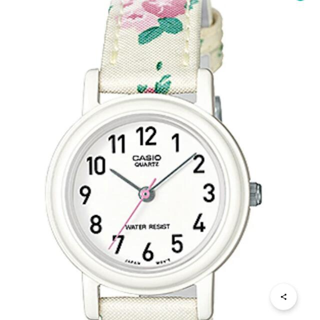 Casio Flowery Watch