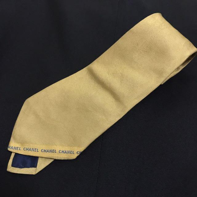 Chanel寬版領帶👔