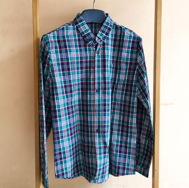Checked Green Longsleeve Shirt