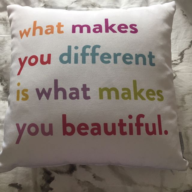 Colourful Quote Pillow