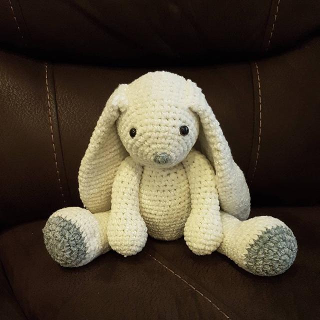 Crochet Velvety Rabbits