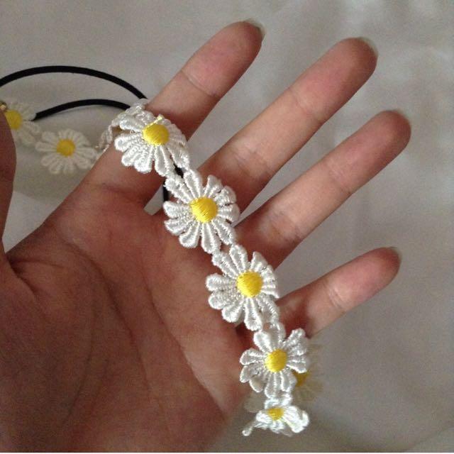 Cute Daisy Flower Hairband
