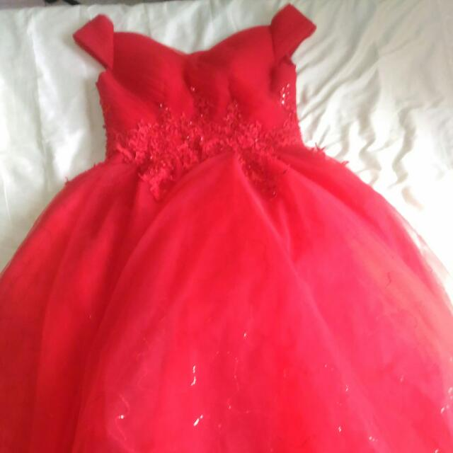 Debut Gown For Sale, Preloved Women\'s Fashion, Clothes on Carousell
