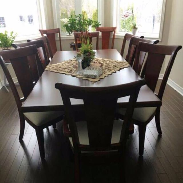 Dining Table With Ten Chairs