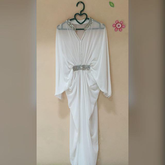 Elegant Silk Kaftan