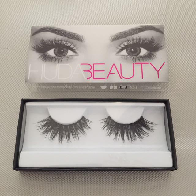 720761fe56d [Farah #12] Authentic Huda Beauty Faux Mink Lashes, Health & Beauty, Makeup  on Carousell