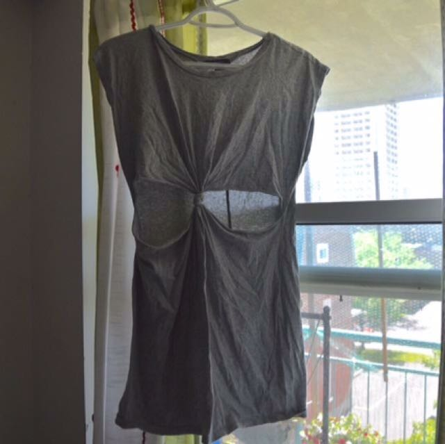 Forever21 Cutout Dress