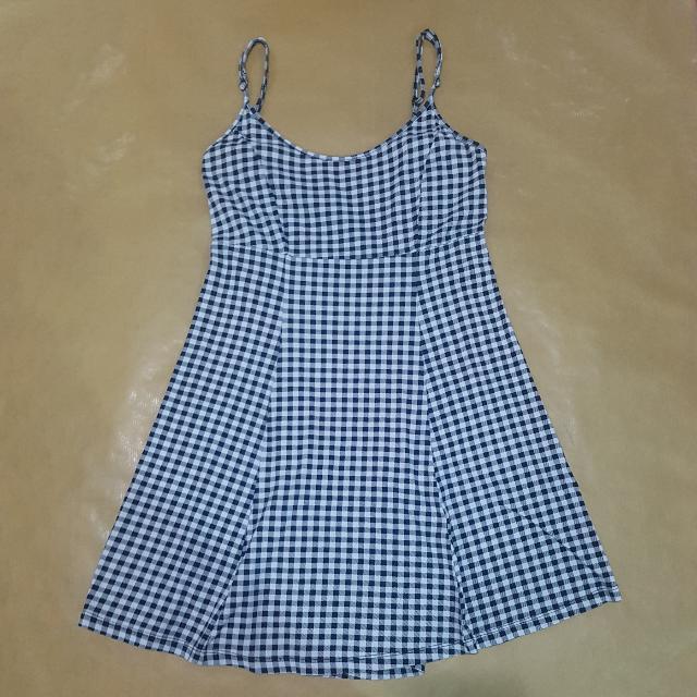 Forever 21 Checkered Spaghetti Strap Dress