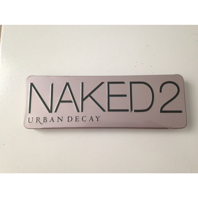 Eye Shadow Pallette Naked 2 Urban Decay