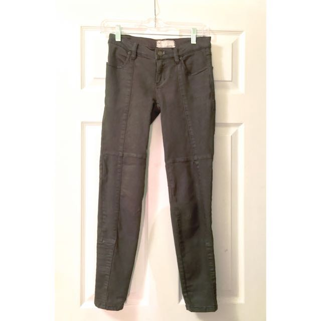 Free People Size 0 Army green pants