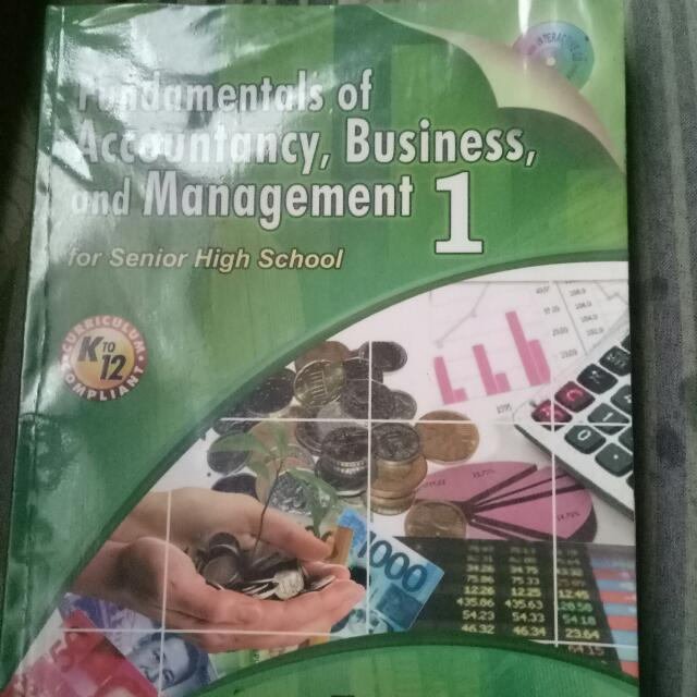 Fundamentals of accountancy business and management 1