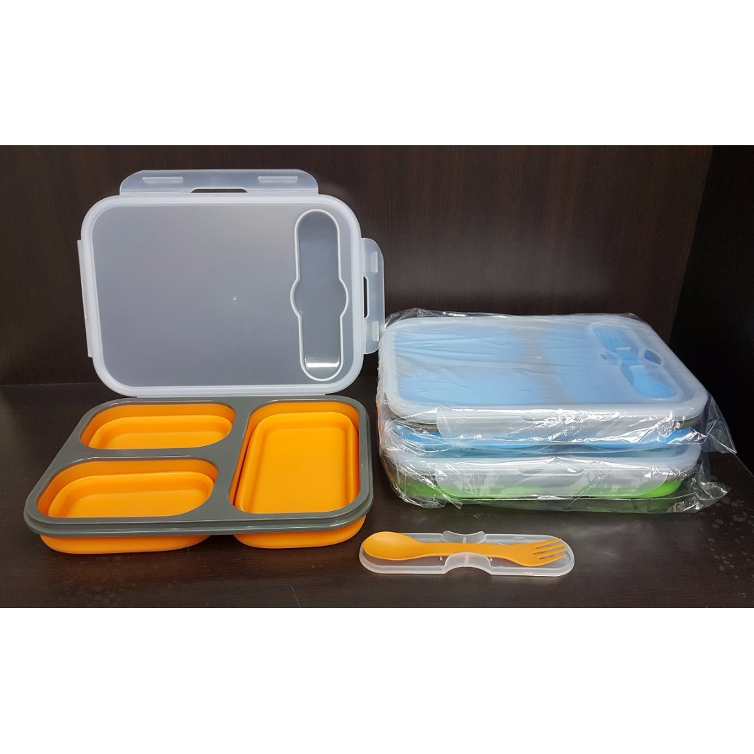 Gadgets Town 2017 LATEST DESIGN COLLAPSIBLE FOOD CONTAINER ECO