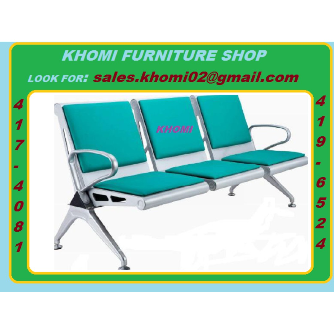 Gang Chairs_Executive Chairs_Freestanding Table_Executive Table_Office Partition-Furniture