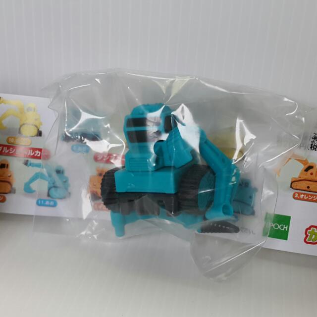 【黑皮GO】挖土機扭蛋玩具/模型公仔