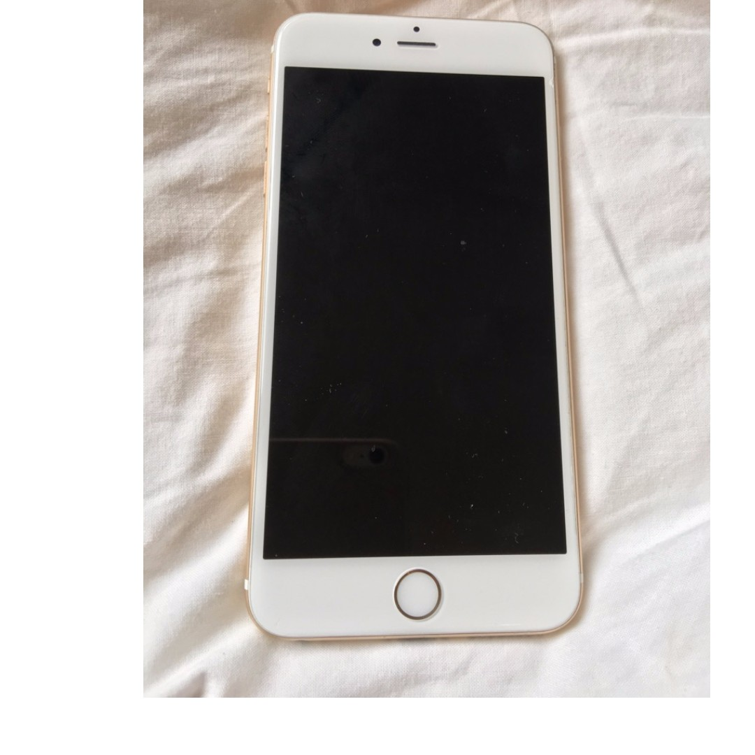 Gold Iphone 6plus