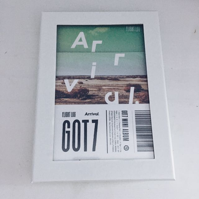 GOT7 Flight Log ARRIVAL Album